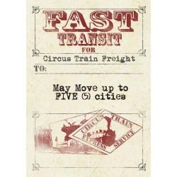 Circus Train (Inglés)