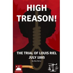 High Treason!: Trial of Louis Riel (Inglés)