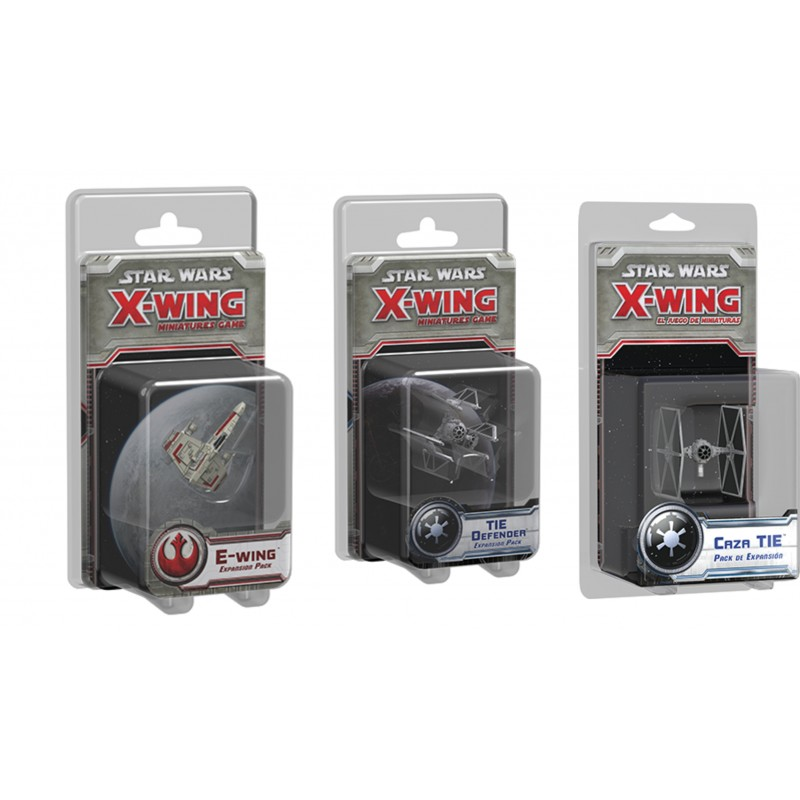 [Pre-Venta] Star Wars X-wing: Pack de Naves 5