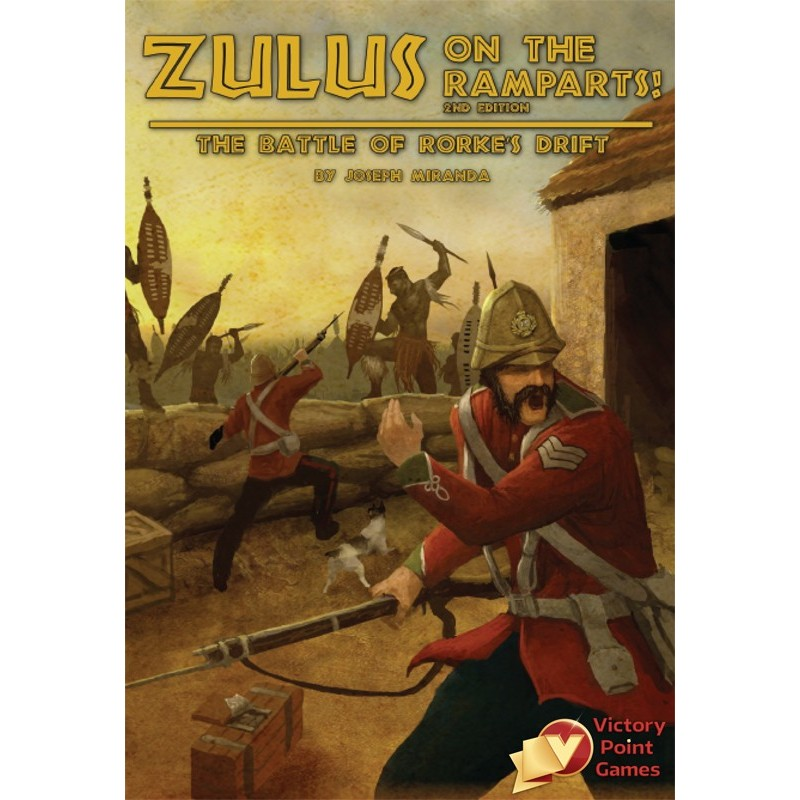 Zulus on the Ramparts! 2nd Edition (Inglés)