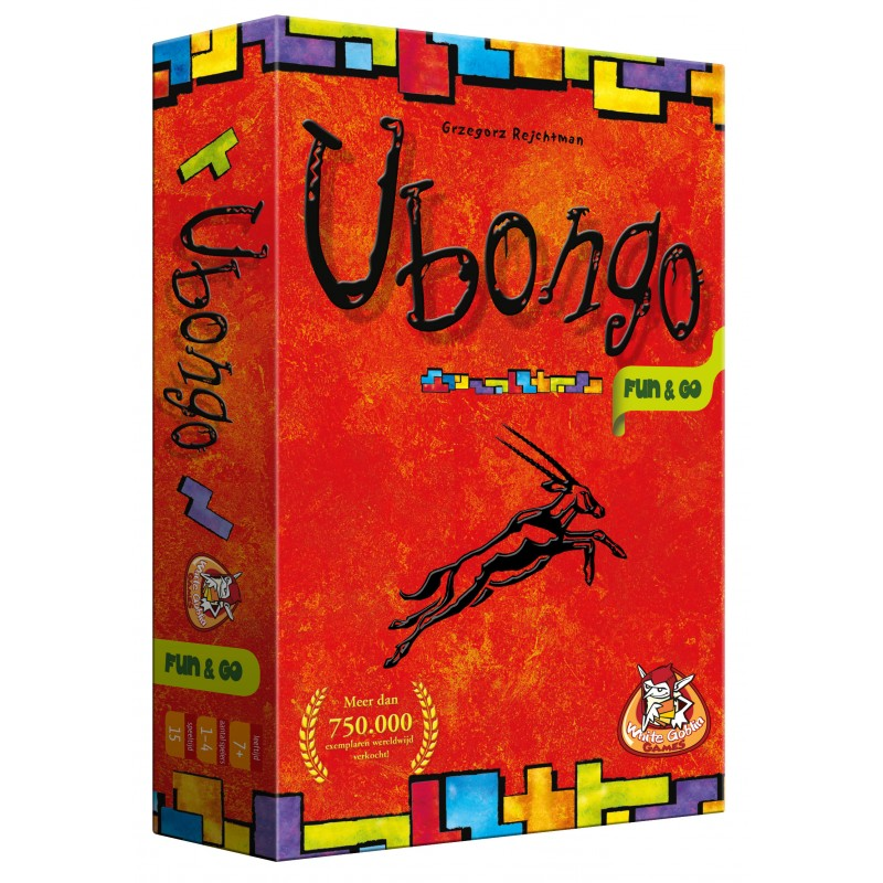 Ubongo  Fun and Go (Holandés)