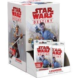 Star Wars Destiny - Legados: Expositor de Sobres de Ampliación (36)
