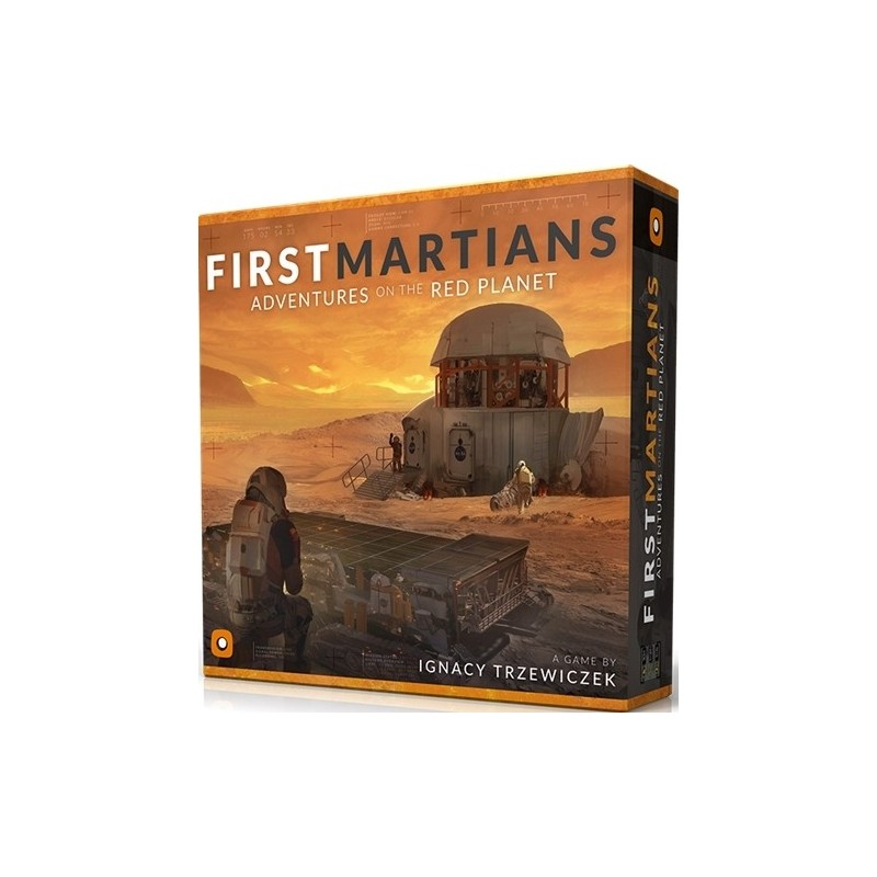 First Martians: Adventures on the Red Planet (Inglés)