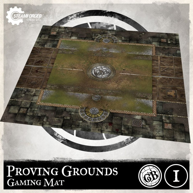 Guild Ball Play Mat: Proving Grounds (Inglés)