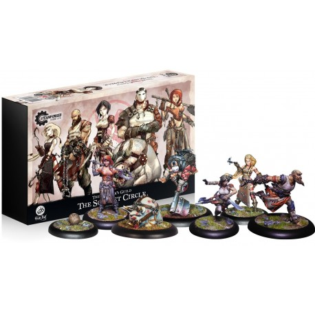 Guild Ball: The Butcher's Guild The Scarlet Circle (Inglés)