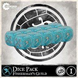 Guild Ball: Fisherman's Dice x10 (Inglés)