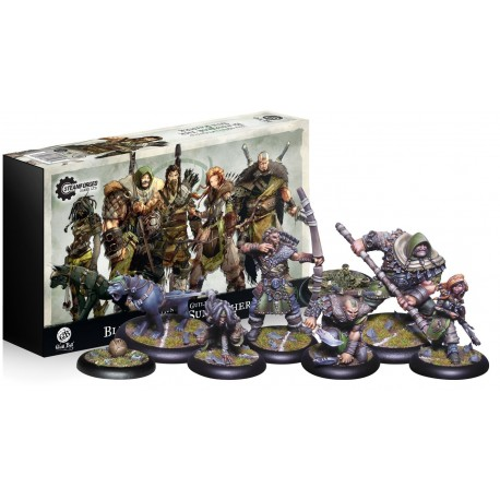 Guild Ball: The Hunter's Guild: Blessed of the Sun Father (Inglés)