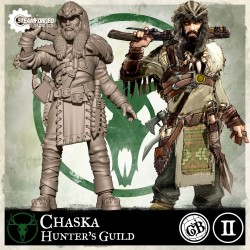 Guild Ball: The Hunter's Guild - Chaska (Inglés)