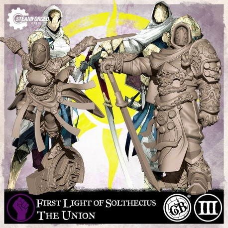 Guild Ball: The Union - First Light of Solthecius (Inglés)
