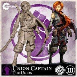 Guild Ball: The Union - Seasoned Brisket Union Captain (Inglés)