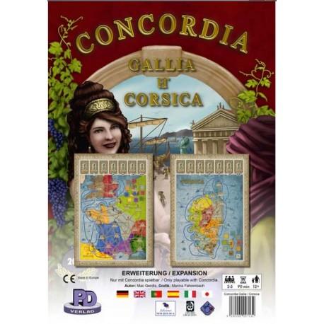Concordia Expansion Britannia y Germania