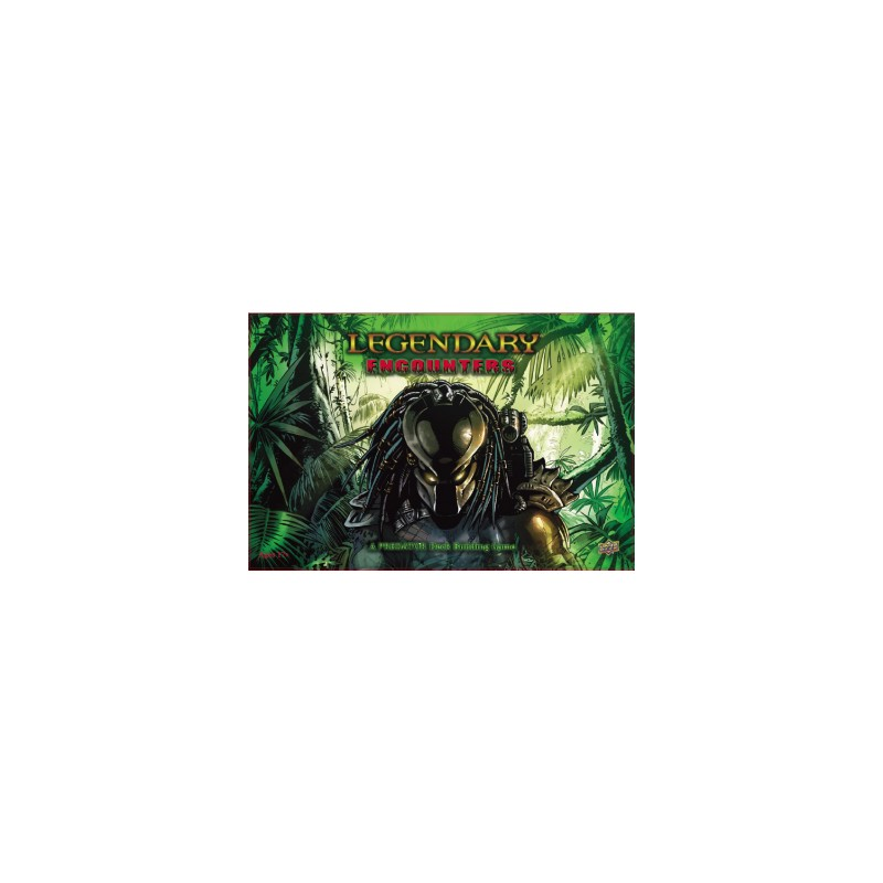 Legendary Encounters: A Predator Deck Building Game (Inglés)