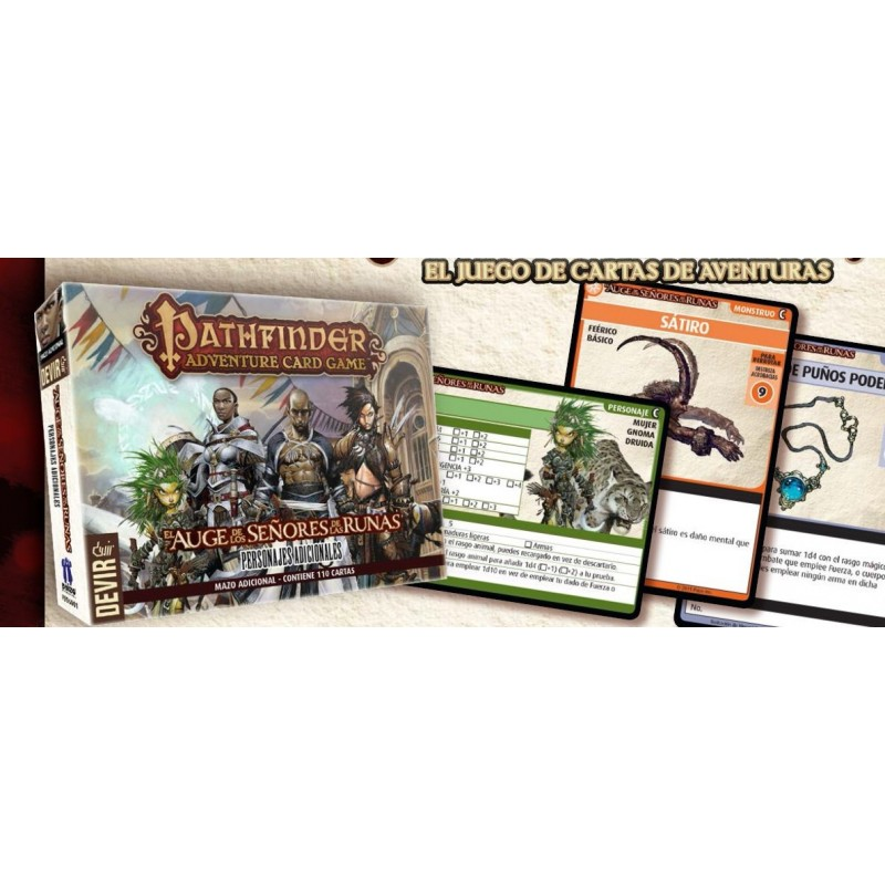 Pathfinder: el juego de cartas - Mazo de Personajes adicionales