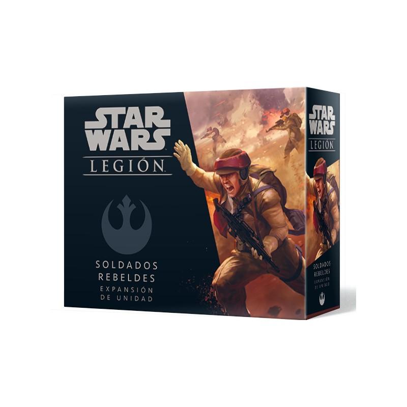 [Pre-Venta] Star Wars Legión -Soldados rebeldes