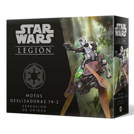 [Pre-Venta] Star Wars Legión - Motos deslizadoras 74-Z