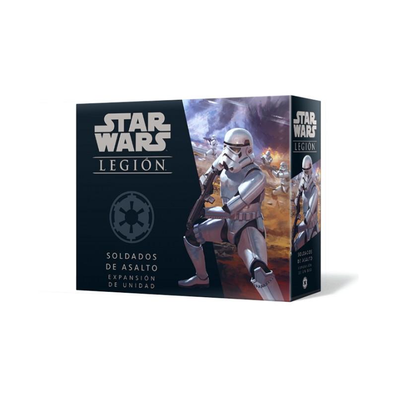 [Pre-Venta] Star Wars Legión - Soldados de asalto