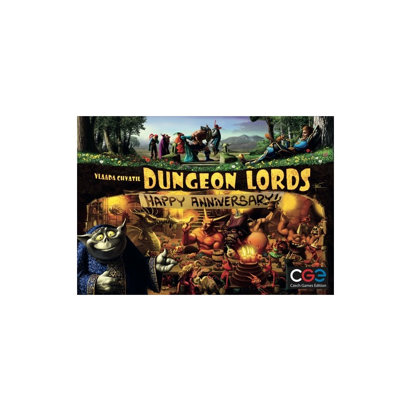 Dungeon Lords: Happy Anniversary (Inglés)