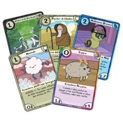 Hora de Aventuras: Card Wars - Princesa Chicle contra Princesa del Espacio Bultos