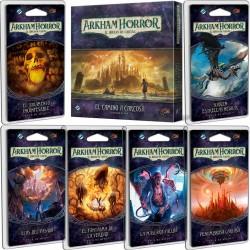 Arkham Horror el juego de cartas - El camino a Carcosa CICLO COMPLETO