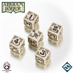 Arkham Horror Dice Set (Hueso)