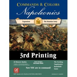 C & C: Napoleonics Expansion: The Russian Army, 3rd Printing (INGLES)