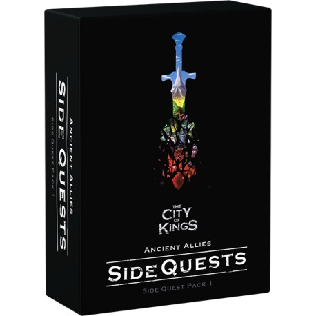 [PRE-VENTA] The city of kings - Side Quest Pack (Inglés)
