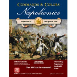 Commands & Colors: Napoleonics Expansion: The Spanish Army (INGLES)