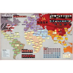 Twilight Struggle Deluxe Mounted Mapboard (INGLES)