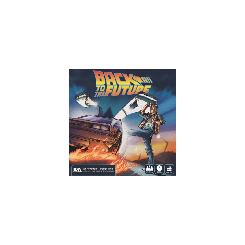 Back To The Future: An Adventure Through Time (Ingles)