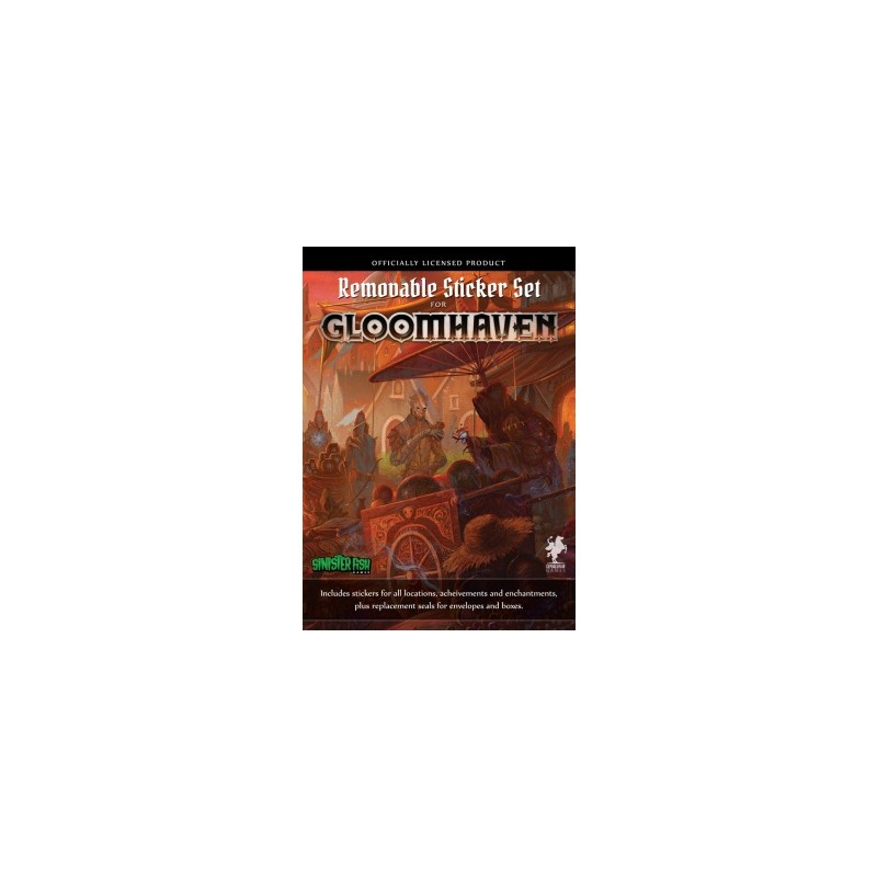 Gloomhaven - Removable Sticker Set (Ingles)