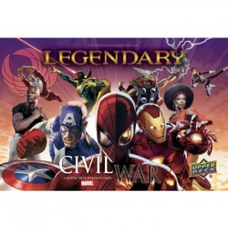 Legendary: A Marvel Deck Building Game - Civil War Expansion (Ingles)