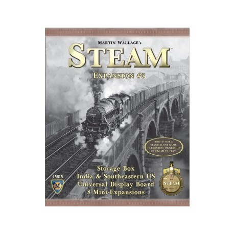 Steam Map Expansion 5: Boxcar (Ingles)