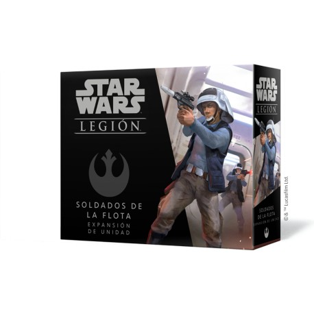 [Pre-Venta 25/05] Star Wars Legión: Soldados de la flota
