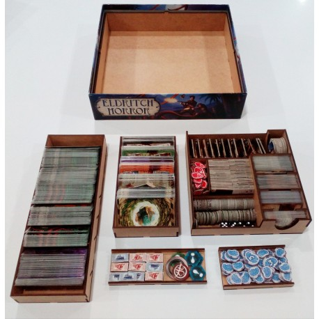 Caja compatible con Eldritch Horror y Saber Olvidado