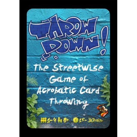 Throw Down! - Card Game: Blue (Inglés)