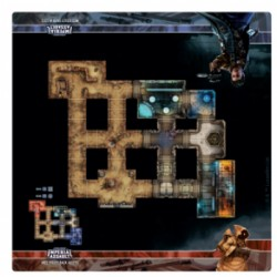 Star Wars: Imperial Assault Skirmish Map - Mos Eisley Back Alleys (Inglés)