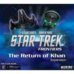 Star Trek: Frontiers - Return of the Khan Expansion (Inglés)