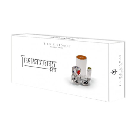 T.I.M.E. Stories Transparent set
