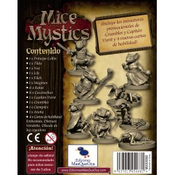 Mice and Mystics (De Ratones y Magia) Español PACK DE MINIATURAS