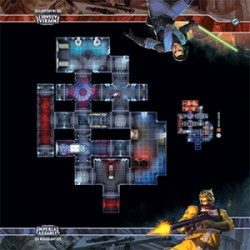 Star Wars: Imperial Assault Skirmish Map - ISB Headquarters (Inglés)