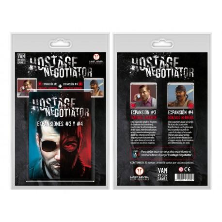 HOSTAGE EL NEGOCIADOR EXPANSIONES 3 Y 4
