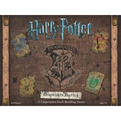 Harry Potter Hogwarts Battle - A Cooperative Deck Building Game (Inglés)