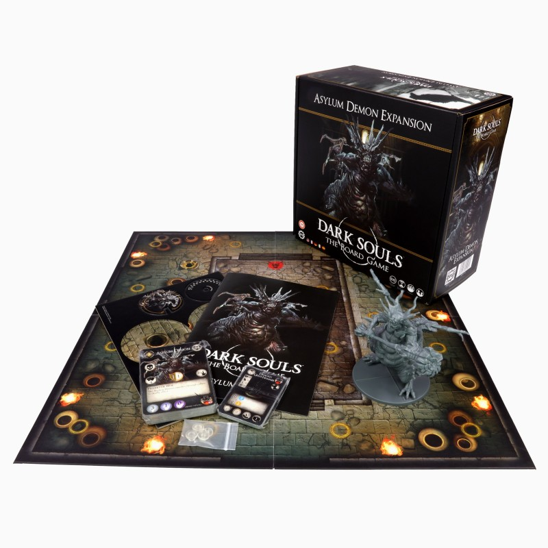 Dark Souls: The Board Game -  Asylum Demon Expansion (Español/Multi-idioma)