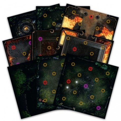 [PRE-VENTA 21/09/2018] Dark Souls: The Board Game - Darkroot Basin and Iron Keep Tile Set
