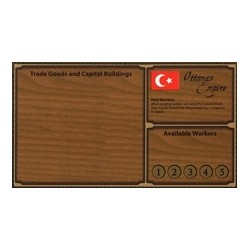 EMPIRES: AGE OF DISCOVERY - OTTOMAN PLAYER BOARD (Inglés)